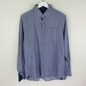 Ted Baker Grey Button Up Dress Shirt